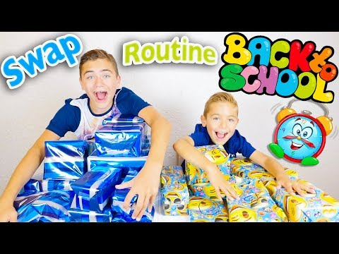 SWAP de ROUTINE BACK TO SCHOOL