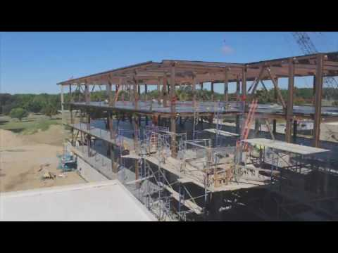 Timelapse of the Dr. Daniel M. Asquino building construction, Mount Wachusett Community College