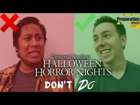 Dos and Don'ts of Halloween Horror Nights: Part Two