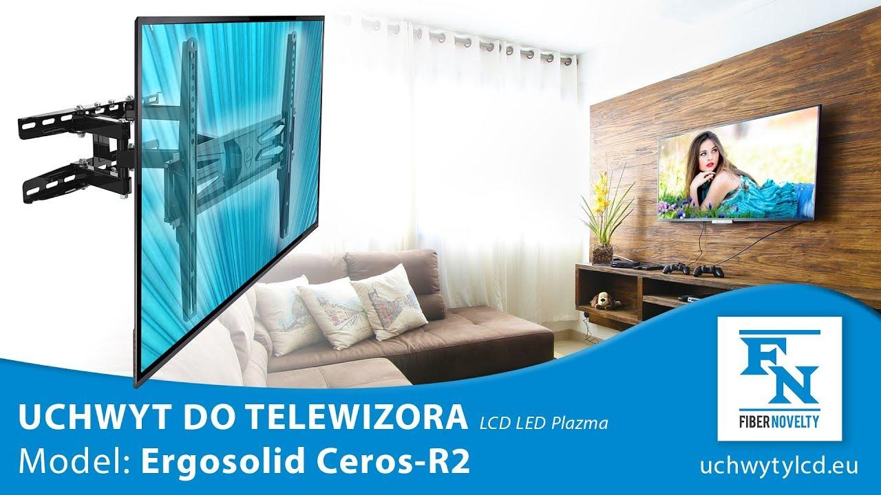 """CEROS-R2 - Wysokiej jakości obrotowy uchwyt do telewizorów LCD, LED 32"""" - 55"""""""
