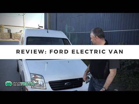 Car Truth TV    of Ford Electric Transit Van