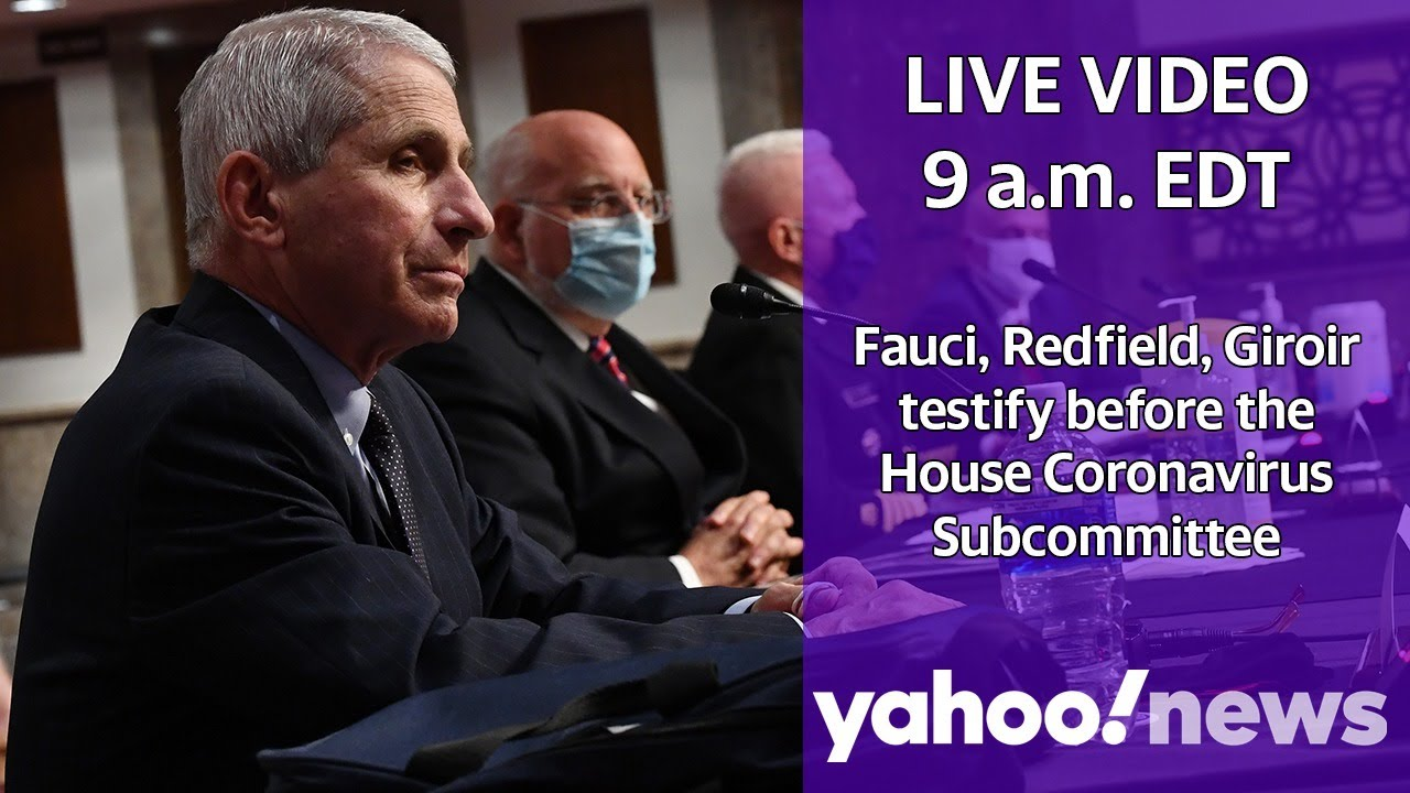 LIVE: Fauci, Redfield, Giroir testify before House Coronavirus Subcommittee