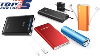 Top 5 Best Portable Chargers of 2018