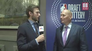 'Hopefully we get a little luck': Hawks General Manager Travis Schlenk ready for NBA draft
