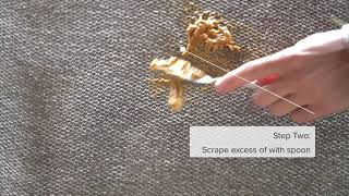 How to clean Upholstery- Peanut Butter | Revolution Fabrics