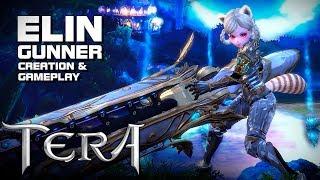 TERA - Elin Gunner - Creation & Gameplay - Lilttle Gunners Event - F2P - KR