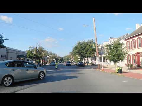 Driving From Emmaus To Allentown, Pennsylvania