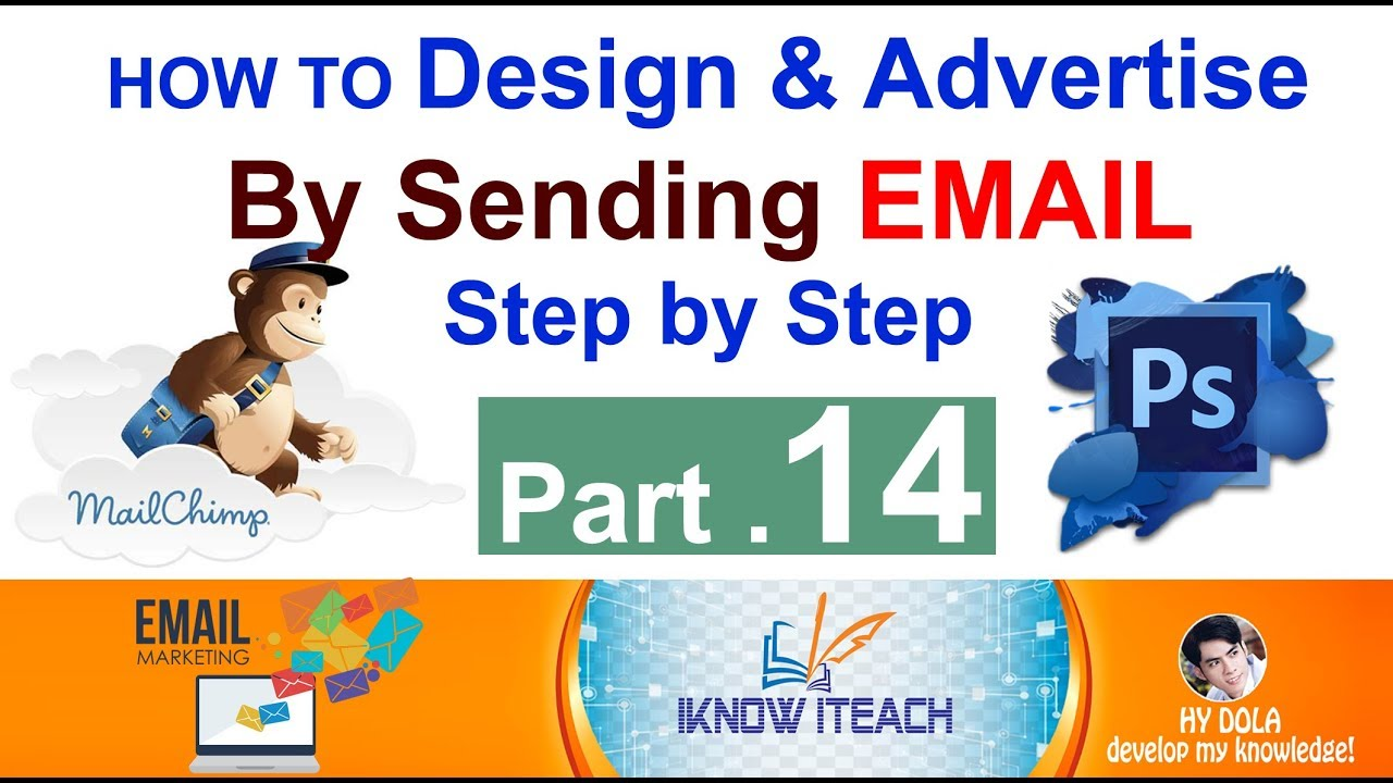Part 14 Email Marketing Design Products Brochure Using Photoshop