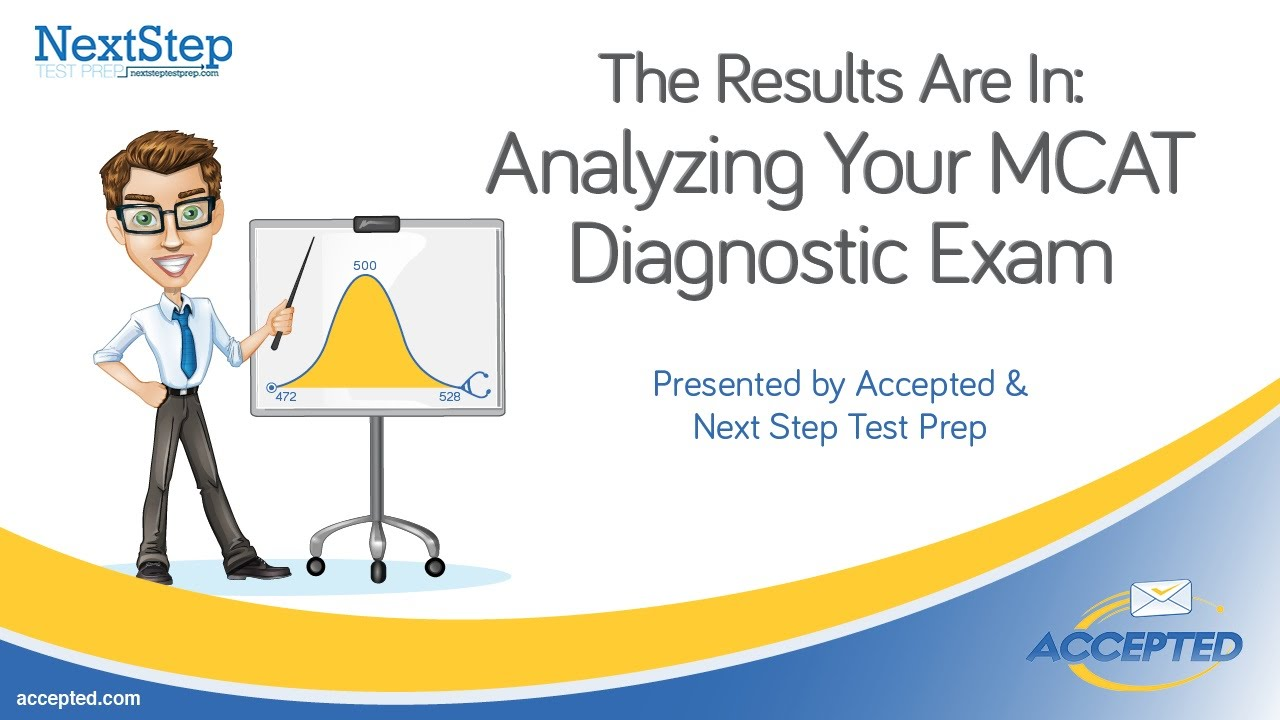 The Results Are In: Analyzing Your MCAT Diagnostic Exam