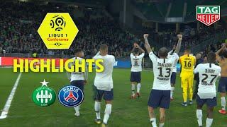 AS Saint-Etienne - Paris Saint-Germain ( 0-1 ) - Highlights - (ASSE - PARIS) / 2018-19