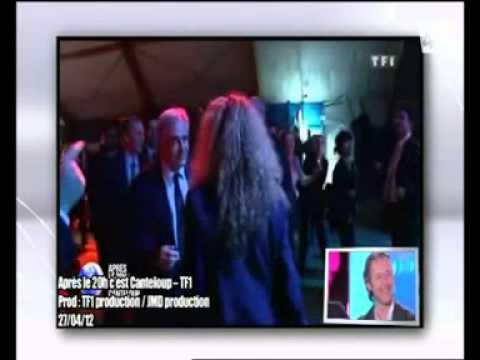 Nicolas Canteloup   Doublage de DSK  Dominique Strauss Kahn    Après le 20h, c