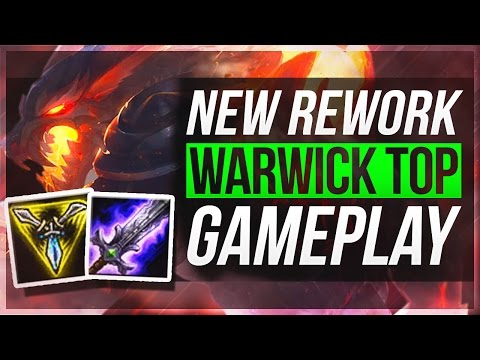 WARWICK TOP BUSTED?? - Warwick Rework Gameplay | League of Legends