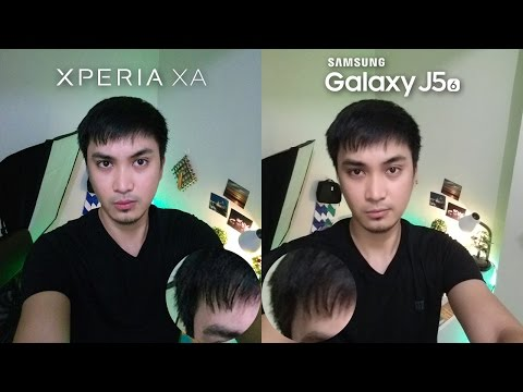 Sony Xperia XA vs Samsung Galaxy J5 2016 Review + Camera Comparison