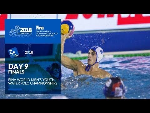 RE-LIVE | Water Polo - Day 9 (Final) - 4th FINA World Men's Youth Water Polo Championships 2018