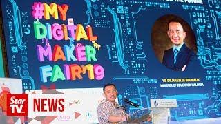 Maszlee: 100 more schools to be part of Digital Maker Hubs initiative