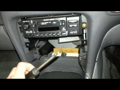 hqdefault how to remove a radio from xg and xh falcon utes