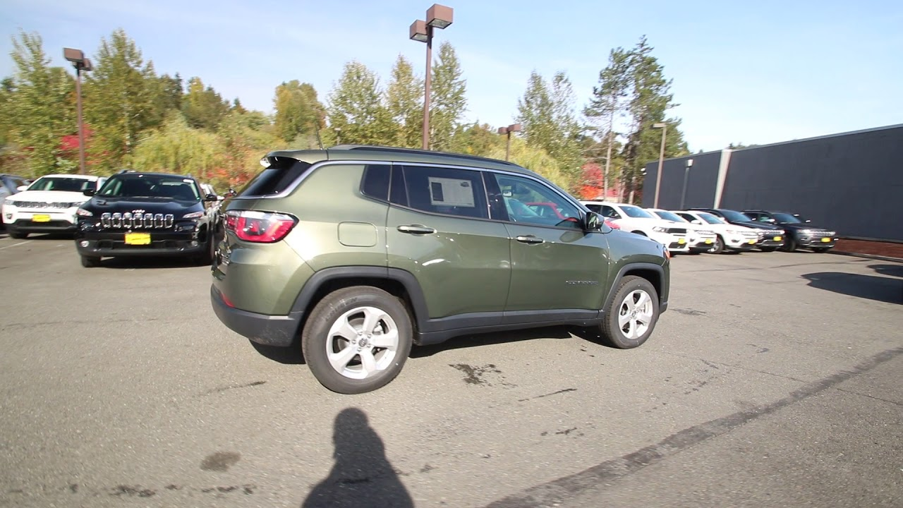 2018 Jeep Compass Latitude Green