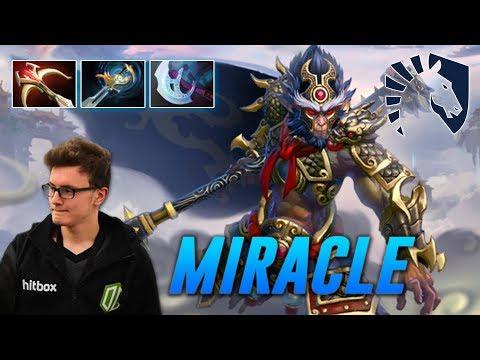 Miracle Monkey TOTAL DOMINATION   Dota 2 Pro Gameplay