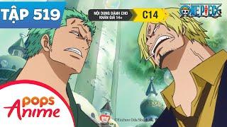 One Piece Tập 519 - Hải Quân Đã Tới. Mục Tiêu Là Băng Mũ Rơm - Đảo Hải Tặc