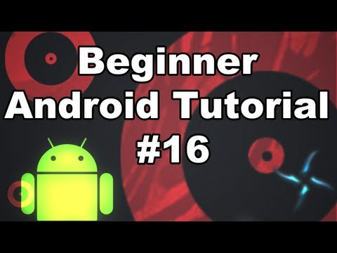 Learn Android Tutorial 1.16-  Hardware Menu Button & Menu inflater items
