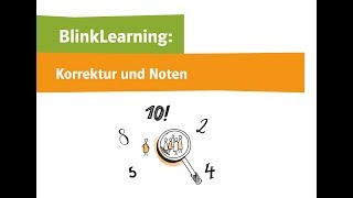Video-Tutorial 6: Korrektur und Noten (LMS BlinkLearning)