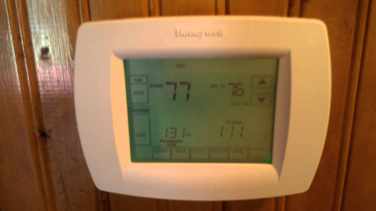 Honeywell Heat Pump Furnace Ac Thermostat