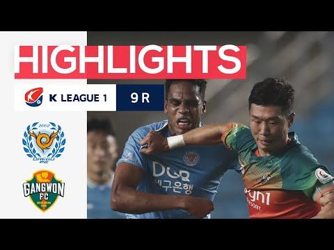 Daegu Gangwon Goals And Highlights