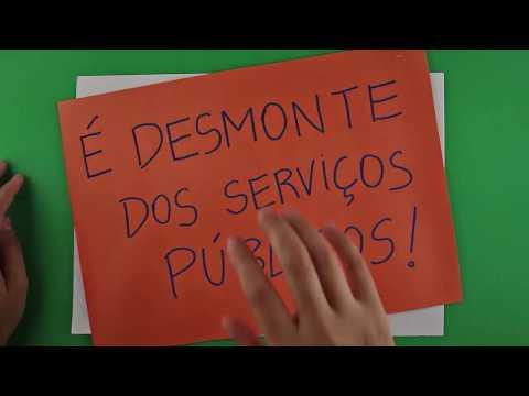 Não é reforma administrativa, é desmonte dos serviços públicos!