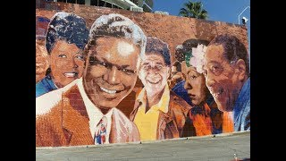 Artist Richard Wyatt Jr. | Capitol Records Hollywood Jazz Mural Restoration