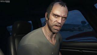 GTA 5 (PS4) - Mission #16 - Nervous Ron [Gold Medal]