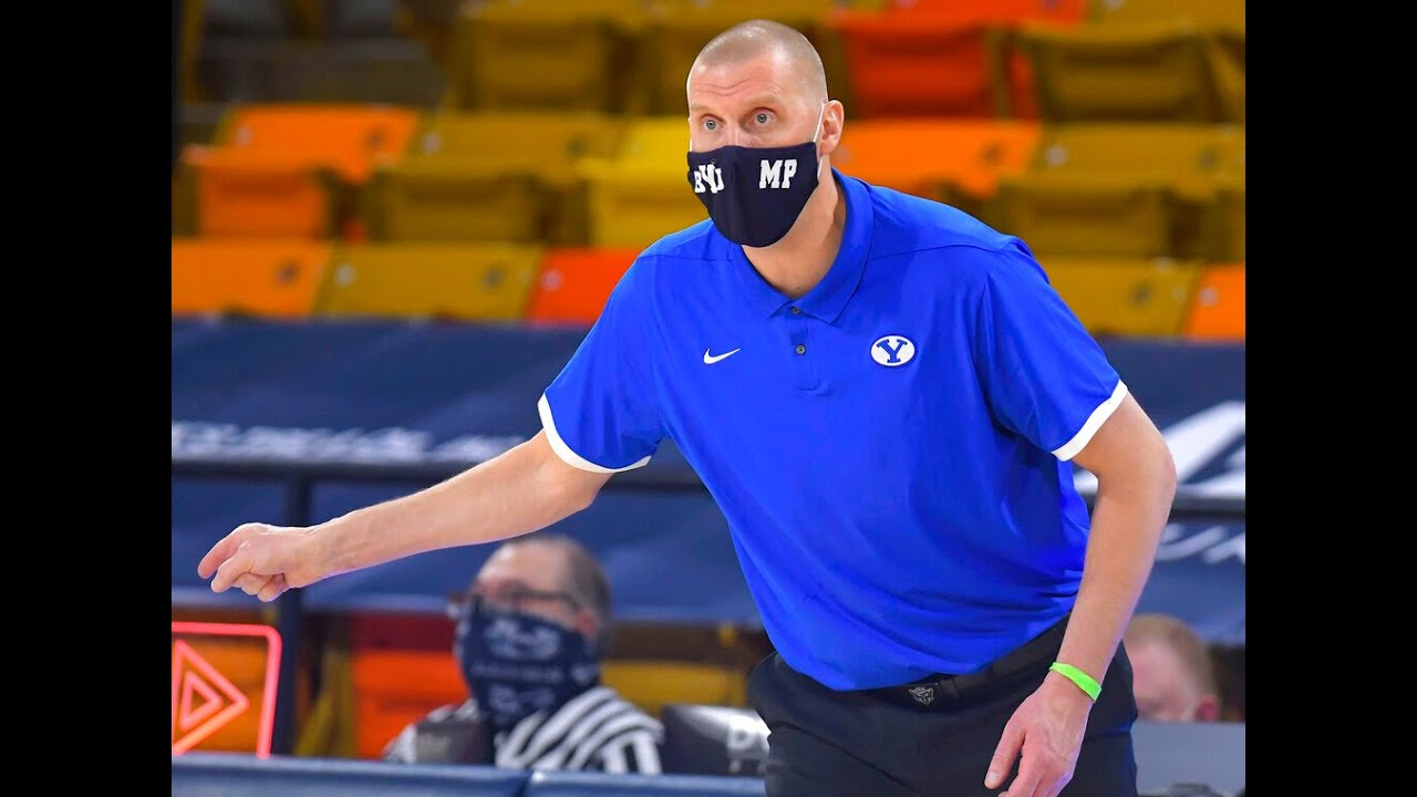 BYU holds off Utah State, 67-64
