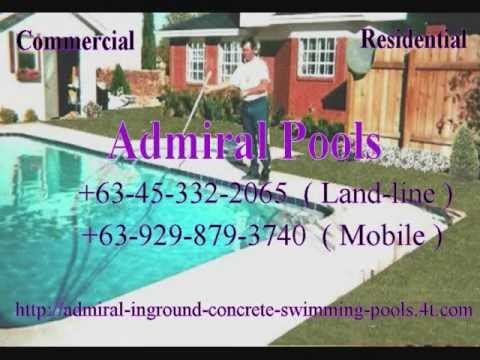 Swimming Pool Contractor, Builder in the Philippines covering Construction and Repair