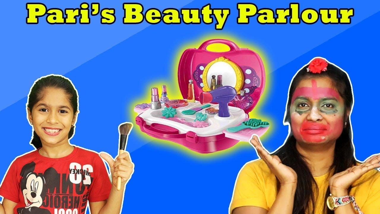 Pari's Magical Beauty Parlour | Pari Doing Makeup | Funny Video