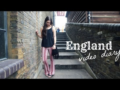 England Video Diary: London, Camden, Brighton