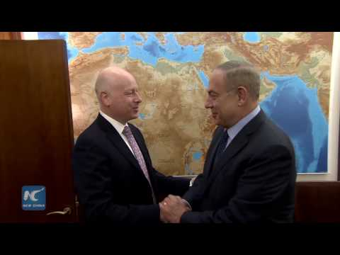 Netanyahu meets with Trump's top adviser for Israeli-Palestinian conflict solution