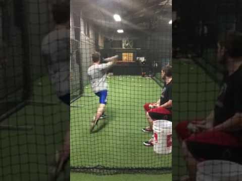 Jacob Shifferd Pitching with Scott Williamson 2.7.17