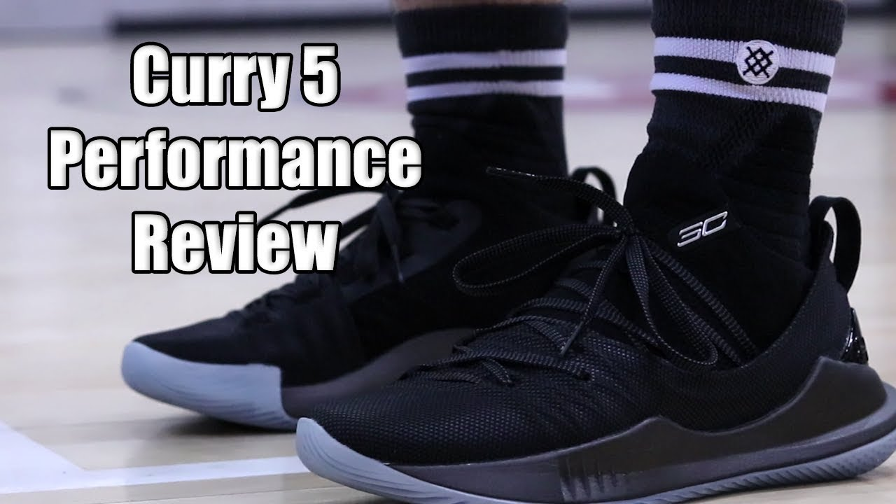 bb85541a86a5 Under Armour Curry 5 Performance Review - YouTube