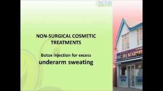 Underarm sweating treatment, UK London Thumbnail