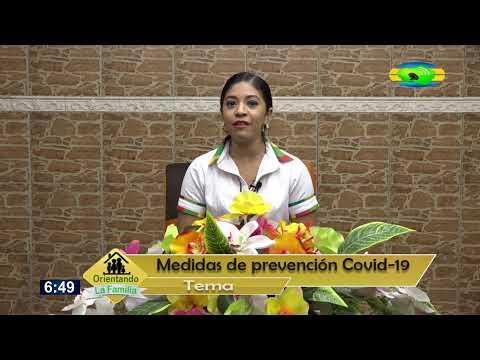 Orientando a la familia - 12 Marzo 2020 Tema: Medidas de prevención Covid-19