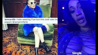Cardi B says 'I Refuse to Get Extorted' after People tell her to Not come to LA over 'FLUE' comment.