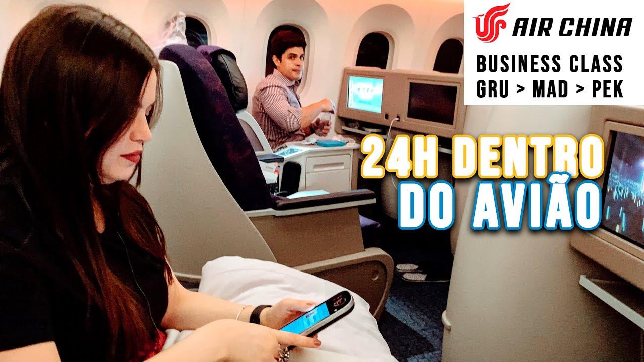 Como é voar de Air China - Não é caro viajar de Classe Executiva