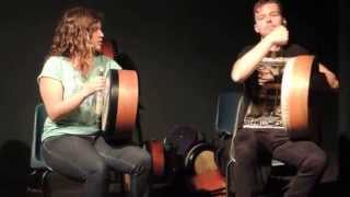 Bodhrán duett (with Cormac Byrne), recital of tutors - Craiceann 2014 video notes