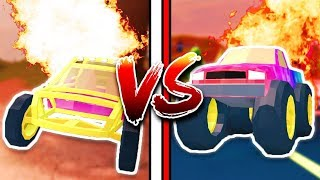 MONSTER TRUCK VS DUNE BUGGY!! 🔥😱 WHICH IS BETTER!? (Roblox Jailbreak New Update)