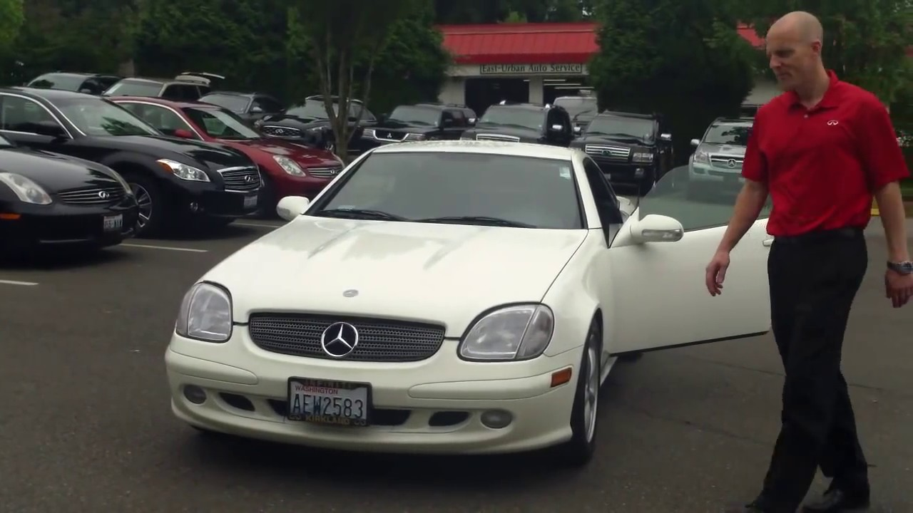 2003 mercedes slk320 review in 3 minutes you ll be an expert on the slk320
