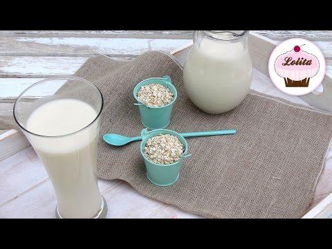 Receta de leche de avena casera | Leche vegetal de avena | Sin lactosa