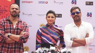 Ajay Devgn, Parineeti Chopra, Rohit Shetty पहूँचे Jio MAMI Movie Mela 2017