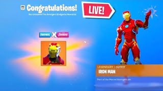 *NEW* AVENGERS ITEM SHOP SKINS! GIFTING SKINS LIVE! (Fortnite Battle Royal)