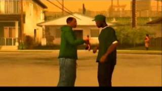 Gangster Party 2pac song GTA SA pics of characters  video