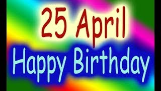 25 April Special New Birthday Status Video, happy birthday wishes, birthday msg quotes जन्मदिन