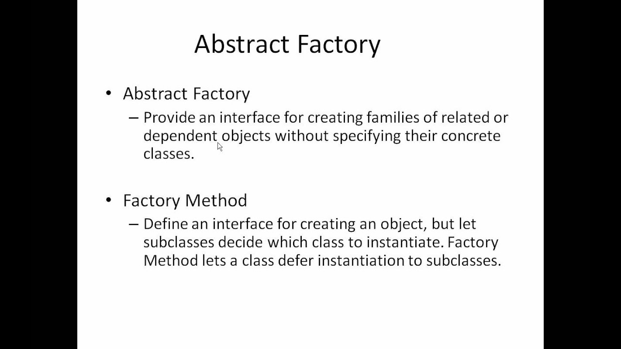 Abstract Factory Pattern C Awesome Design Inspiration